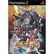 Super Robot Wars Mx Ps2 Japones