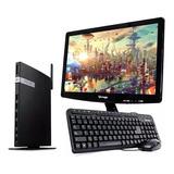 Computadora Pc Mini Intel Dual Core Ssd 240gb 8gb W10 Mon