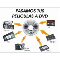 Pasamos Tus Películas Beta Vhs Discos Cassettes A Dvd Y Cd