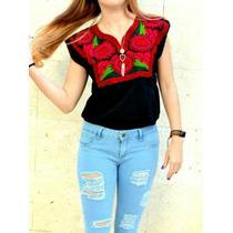 Blusa Bordada Mexicana