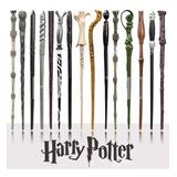 Varita De Harry Potter Con Estuche + Sticker Platinum Regalo