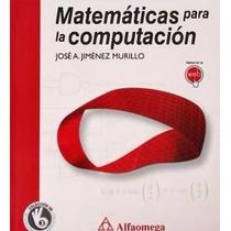 Matemáticas Para La Computación Pdf