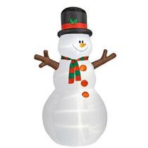 Mono De Nieve Inflable Decoracion Navidad Adorno Navideño