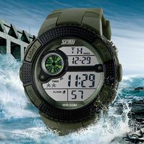 Reloj Tipo Militar Sport Navy Seal 3 Colores Sumergible 50m