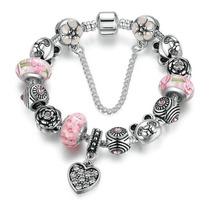 e1640fc41dc7 Busca Cadena de Corazón plata 925ale pandora con los mejores precios ...