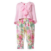 Conjunto Blusa Y Pantalón Para Bebé. Marca Mini Raxevsky