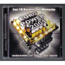 Euro Power 2001 Los 16 Eurohits Cd Max Music 2001