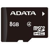 Memoria Sd Adata Microsd Class 4, 8 Gb