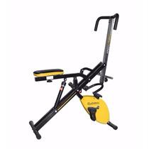 Body Magic Crunch Pro Como Lo Viste En Tv! Bicicleta Fija