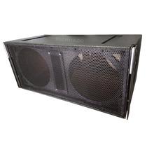 Paquete De 4 Bafles Lineales Mr Audio M212 Para 2 Bocinas 12