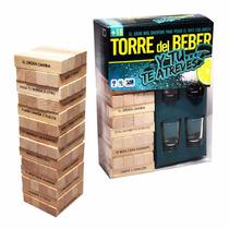 Torre Del Beber Jenga Shots Tequila Vasos Tequileros Origina