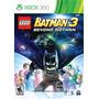 Lego Batman 3 Beyond Gotham Xbox 360 Nuevo