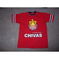 Playera Chivas Del Guadalajara - Roja