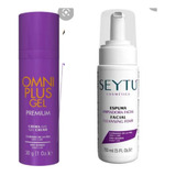 Kit Anti Acne Omniplus Gel + Espuma Limpiadora
