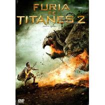 Dvd Furia De Titanes 2 ( Wrath Of The Titans ) - Liebesman