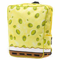 Spongebob Squarepants Mochila Backpack Bob Esponja