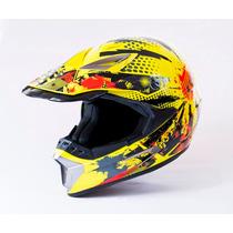 Casco Motocross Top Certificaciones Dot Snell Ece
