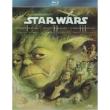 Star Wars Trilogia Episodios 1 2 3 Boxset Peliculas Blu-ray