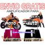 Vecc Envio Gratis Amplificador Para Moto O Auto En 2 Colores