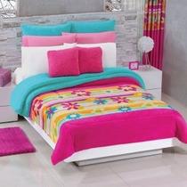 Busca Cobertores borrega de corazones rosas con los mejores precios ... 489eaeffcd8b4