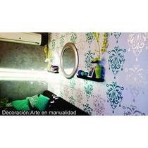 Stencil Decorativo Plantilla Decorativa Modelo M1