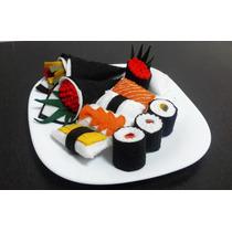 Set De Sushi De Fieltro Para Cocinitas De Niñ@s