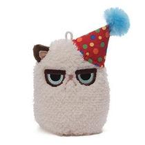Gund Gruñón Gato Mini Plush (cumpleaños) 4