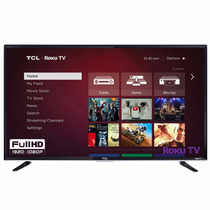 Tv Led 40 Tcl 40fs3750 Hd 1080p 120hz, Wi-fi, Roku Streaming