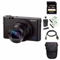 Sony Dsc-rx100m Iii Cyber-shot Accessory Bundle Color Negra