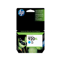 Hp Cartucho 920xl Cyan Para Officjet 6500 7500a Cd972al