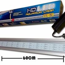 Lampara Led 60cm Acuarios Plantas Acuaticas 7w Aluminio Co2