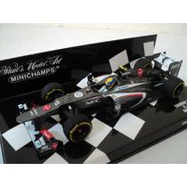 Fórmula 1 Sauber C32 Esteban Gutiérrez 2013