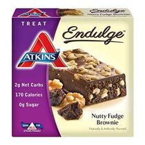 Atkins Endulge Trears Nuez Fudge Brownie Treat Bar 1,4 Oz Ba