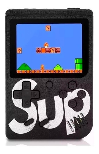 Gamebox Sup 400 Juegos Clasico Retromini Consola Portatil Tv