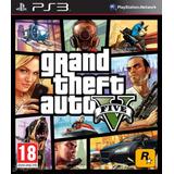 Grand Theft Auto V Gta V Ps3 + Online - No Es Disco