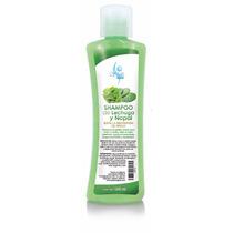 Shampoo De Lechuga Y Nopal Para Cabello Graso Sheló Nabel