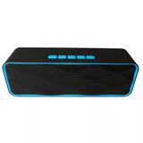 Bocina Recargable Bluetooth Usb Micro Sd Auxiliar Cable V8