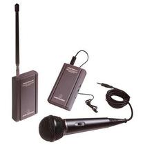 Funcional Sistema De Microfoneo Audio-technica Twinmic