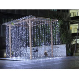 Cortina Led Vintage Blanco Calido 3x3 Interconectables Bodas