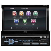 Stereo Boss Audio Bv9977 In-dash Single-din 7-inch Motorized