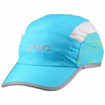 Gorra Para Correr Ajustable Mujer Aquarium Asics Zz332501
