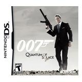 James Bond 007 Quantum Of Solace Nds