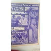 Periódico Antiguo El Figaro David Reynoso 1972