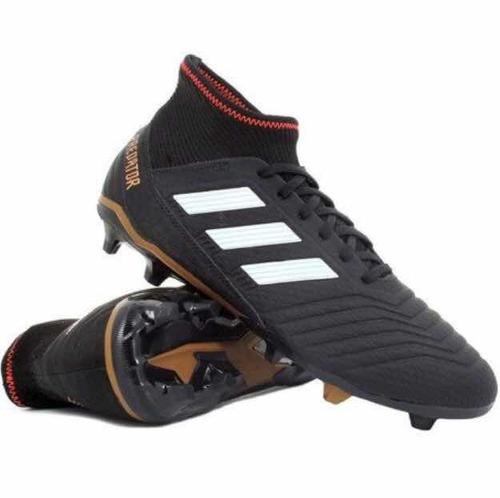Tacos adidas Predator 18.3 Fg Negro  5 dee1dbd62de7a