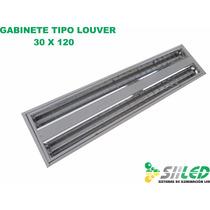 Gabinete Louver 30x120 Para Sobreponer De Led ¡oferta!