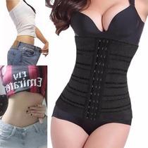 Faja Reductora Mujer Modeladora Corset Color Negro Talla Xxl