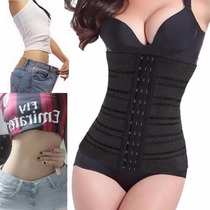 Faja Reductora Mujer Modeladora Corset Color Negro Talla Xl