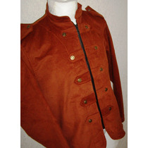 Saco Blazer Casual Vestir Corte Militar Extras 38 A 52