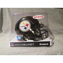 Nfl Pittsburgh Steelers Mini Casco Modelo Speed By Riddell