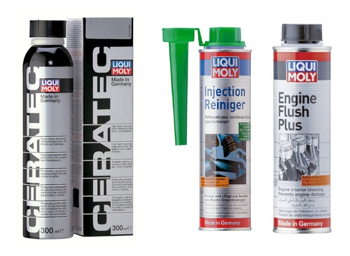 Kit Liqui Moly Ceratec Engine Flush Plus Injection Reiniger